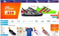墨西哥运动服饰和鞋网上商店:Netshoes墨西哥