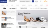 互联网上最大的鞋类及相关服装零售商:Shoes.com