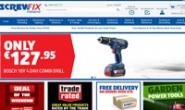 英国最大的五金零售商爱尔兰网站:Screwfix爱尔兰