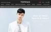 英国著名国际平价时尚男装品牌:Topman