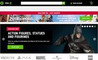 英国著名音像制品和图书游戏购物网站:Zavvi