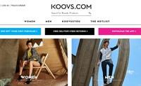 印度领先的在线时尚商店:Koovs