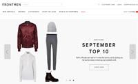 瑞典男士服装网上商店:Frontmen