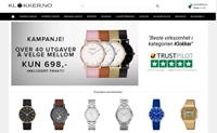 挪威手表购物网站:Klokker