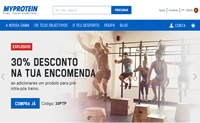 运动和营养补充品在线:Myprotein葡萄牙