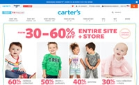 美国婴童服装市场上的领先品牌:Carter's