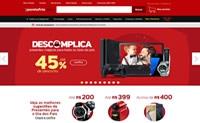 巴西最大的电子和电器商城:Pontofrio.com