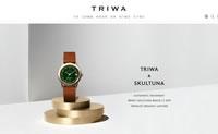 购买瑞典当代设计的腕表和太阳眼镜:TRIWA