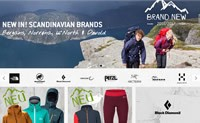 芬兰攀岩、山地运动和户外活动用品购物网站:Bergfreunde
