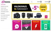 荷兰电子产品购物网站:Pixmania芬兰