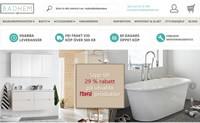瑞典卫浴产品网上商店:Badhem.se