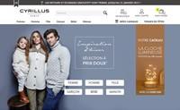 Cyrillus法国官方网站:高品质法国时尚女装、男装和童装