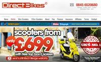 英国第一的摩托车品牌:Direct Bikes