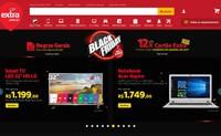 巴西家庭购物网站和最大的电脑商店:Extra