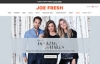 Joe Fresh官网:加拿大时尚品牌和零售连锁店
