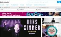 挪威票务网站:Ticketmaster挪威