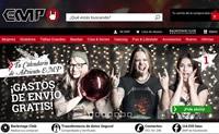 西班牙EMP在线商店:摇滚、重金属、哥特式和街头服饰等