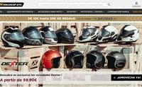 西班牙头号摩托车配件在线销售网站:Motoblouz.es