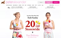 Peter Alexander新西兰站:澳大利亚领先的睡衣设计师品牌