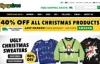 圣诞节毛衣和节日服装国际领先的网上零售商:Tipsy Elves(醉意精灵)