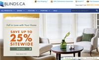 加拿大百叶窗和窗帘定制网站:Blinds