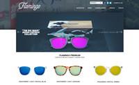火烈鸟太阳镜:Flamingo Sunglasses