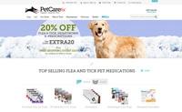 美国猫狗药物和用品网站:PetCareRx