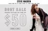 Steve Madden官网:美国鞋类品牌