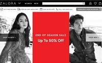 马来西来时装购物网站:ZALORA马来西亚