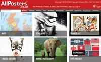 AllPosters英国:购买海报和艺术品印刷