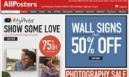 世界上最大的海报和打印店:AllPosters.com