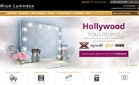 法国LED镜和浴室柜网站:Miroir Lumineux