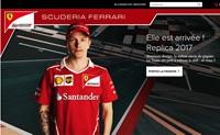 Ferrari法国商店:法拉利官方商品在线购物