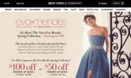 美国知名女性服饰品牌:New York & Company