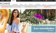ROMWE西班牙:时尚女装购物网站