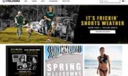 美国殿堂级滑板、冲浪、滑雪服装品牌:Volcom(钻石)