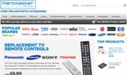 英国最大的电子零件及配件零售商:Partmaster