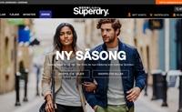 Superdry瑞典官网:英国日本街头风品牌