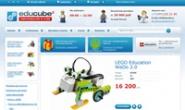乐高机器人俄罗斯网上商店:Educube