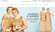 Adrianna Papell官网:晚礼服、婚纱、鞋子和衣服