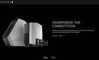 Alienware英国官网:戴尔高性能PC游戏品牌