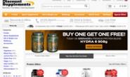 英国最大的在线运动补充剂商店:Discount Supplements