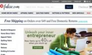 美国面料纺织品商城:Fabric.com