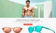 五颜六色的太阳镜:Chimi Eyewear