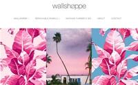 美国环保墙纸网站:Wallshoppe