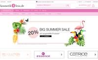 德国化妆品和假睫毛网上购物:kosmetik4less.de