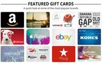 美国礼品卡商城: Gift Card Mall