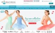 美国折扣舞蹈服饰网站:All About Dance