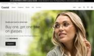 国外最大的眼镜网站:Coastal