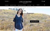 美国时尚孕妇装品牌:A Pea in the Pod